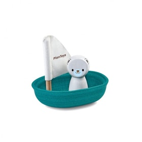 Segelbåt isbjörn, Plan Toys