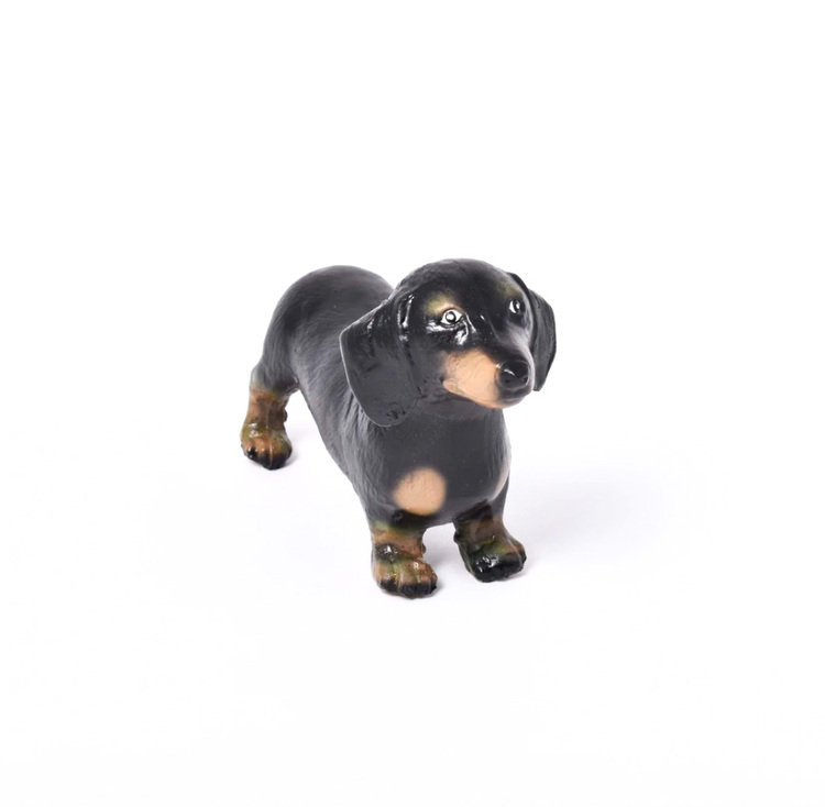 Hund Tax, Green Rubber Toys
