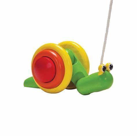 Pull-along Snail, Plan Toys