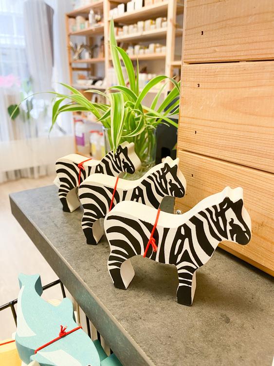 Trädjur Zebra, Tender Leaf Toys