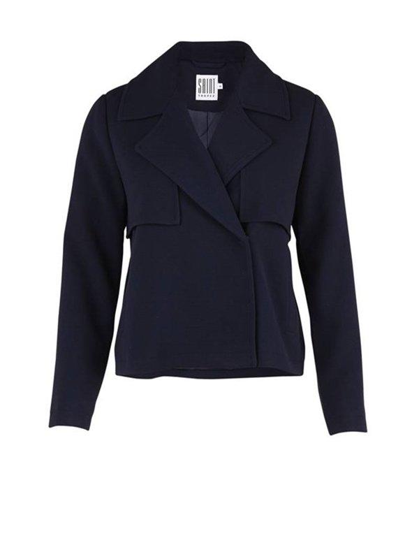 short trench jacket