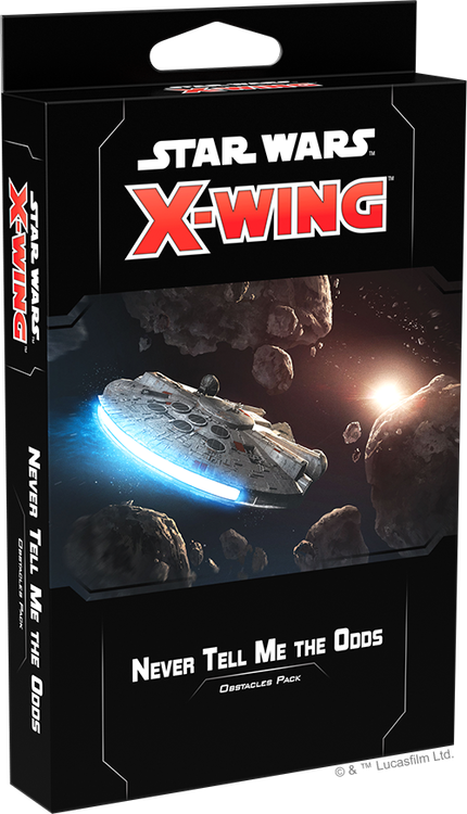 X-Wing (2nd Ed): Never Tell Me the Odds Obstacles Pack PRE-ORDER