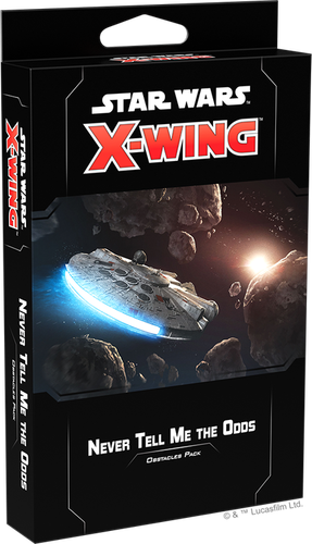 X-Wing (2nd Ed): Never Tell Me the Odds Obstacles Pack
