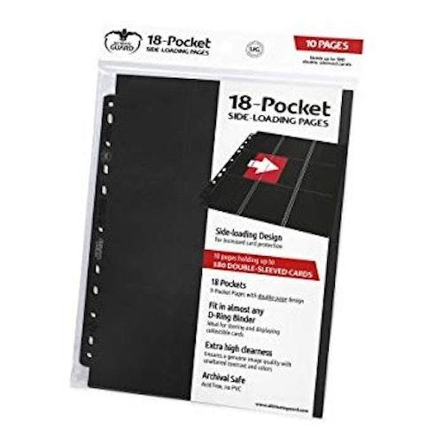 U.G. 18-Pocket Pages Standard Side-Loading (10 pages)
