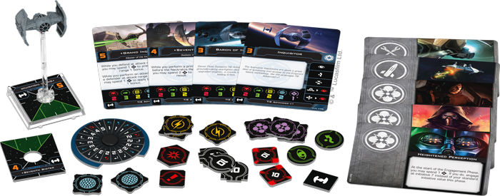 X-Wing (2nd Ed): Inquisitors' TIE