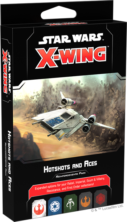 X-Wing (2nd Ed): Hotshots and Aces Reinforcements Pack PRE-ORDER