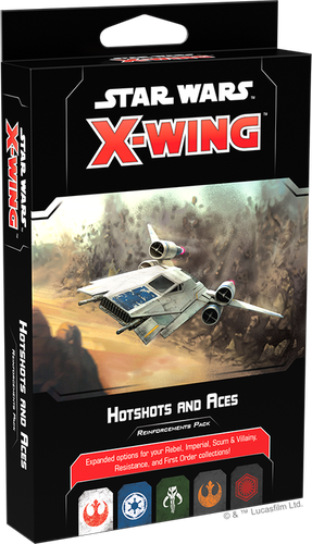 X-Wing (2nd Ed): Hotshots and Aces Reinforcements Pack