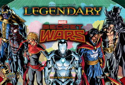 Legendary: A Marvel Deck Building Game: SECRET WARS Volume 1