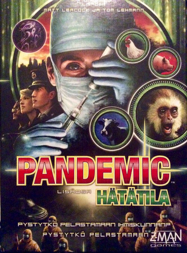 Pandemic: State of Emergency Expansion (Svenska, Finska)