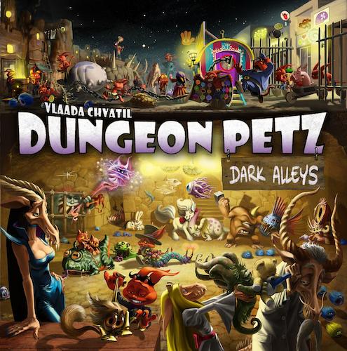 Dungeon Petz: Dark Alleys (Exp.)