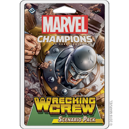 Marvel Champions CG: The Wrecking Crew Scenario Pack