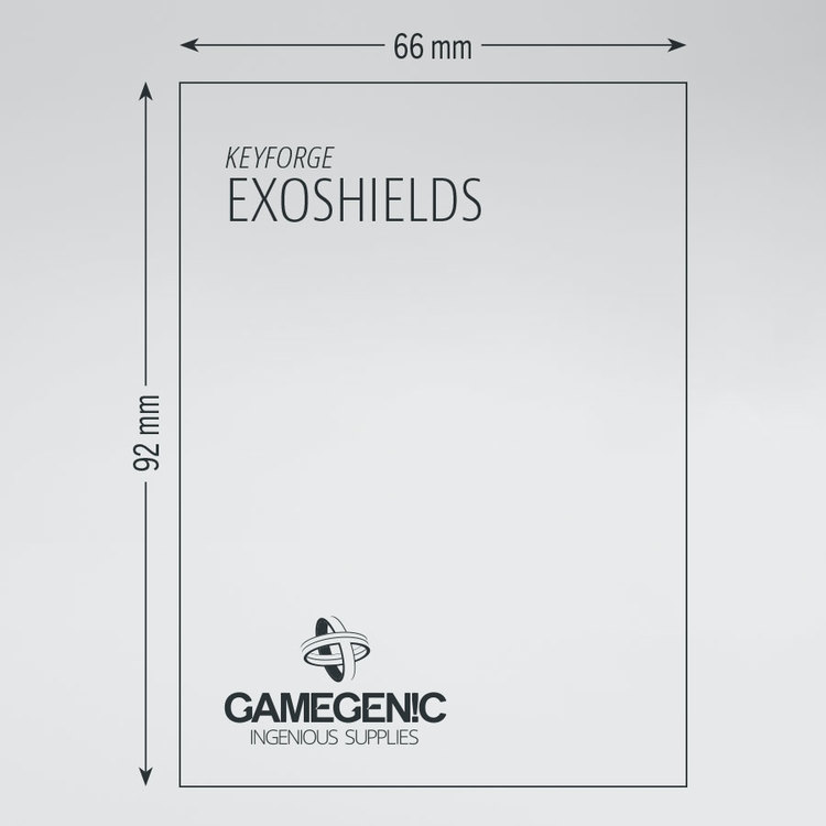 KeyForge Exoshield Tournament Sleeves