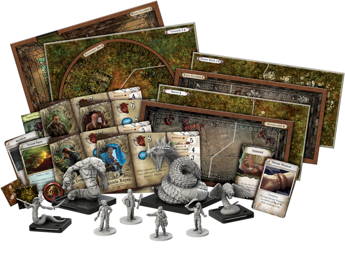 Mansions of Madness: Second Edition – Path of the Serpent (2019)