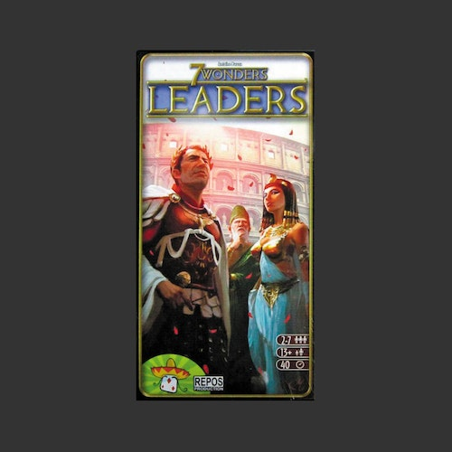 7 Wonders: Leaders (Exp.) Svenska