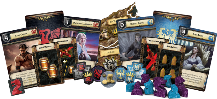 A Game of Thrones: The Board Game - Mother of Dragons (2nd Ed)