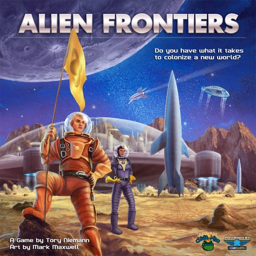 ALIEN FRONTIERS   4th Edition, 2nd Printing