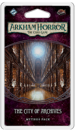 Arkham Horror CG - The City of Archives : Mythos Pack