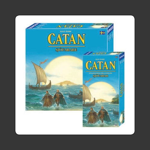 Catan: Sjöfarare (expansion) SVENSKA
