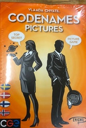 Codenames Pictures Svenska Danska Finska Norska / OBS! DAMAGED BOX