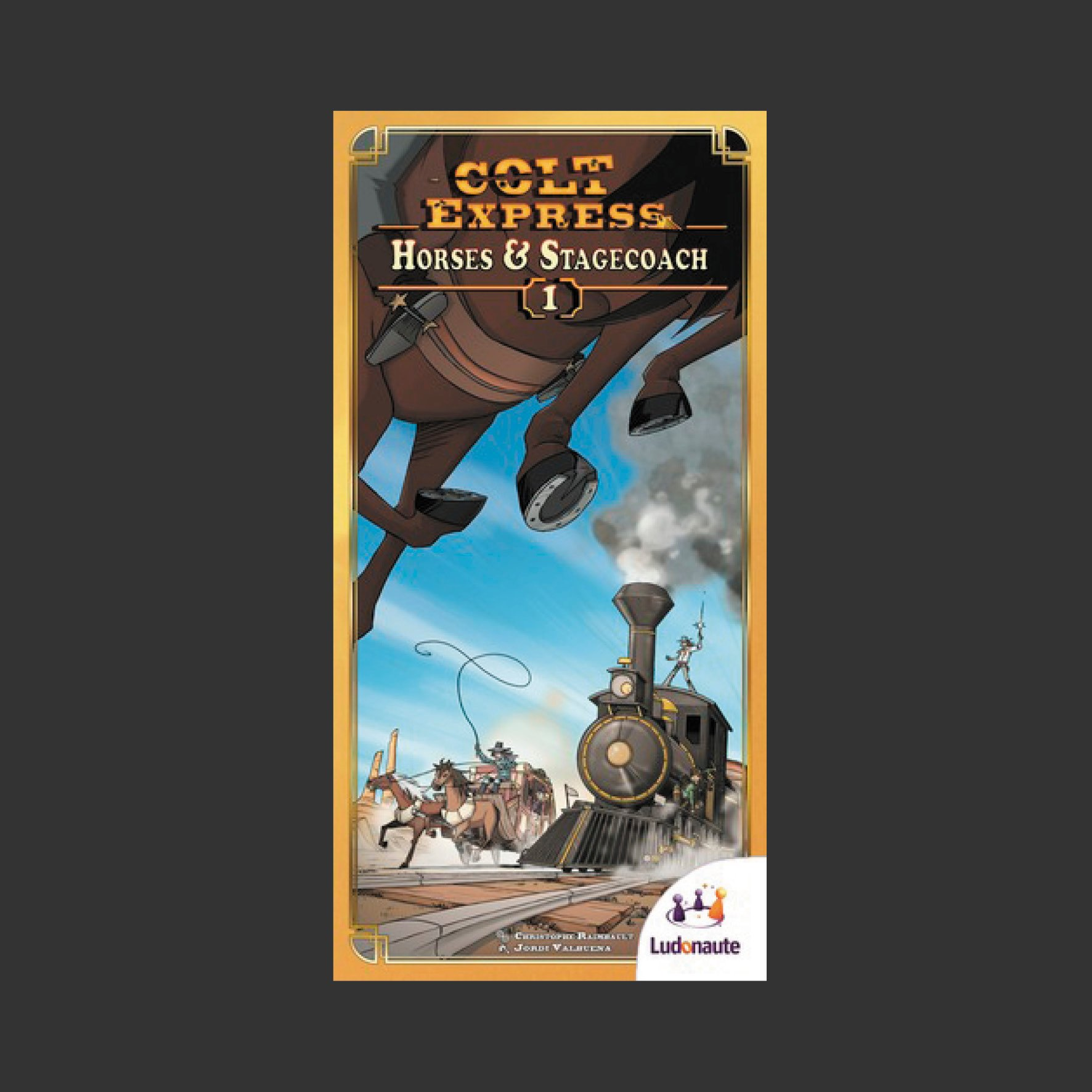 Colt Express: Horses & Stagecoach (Expansion)