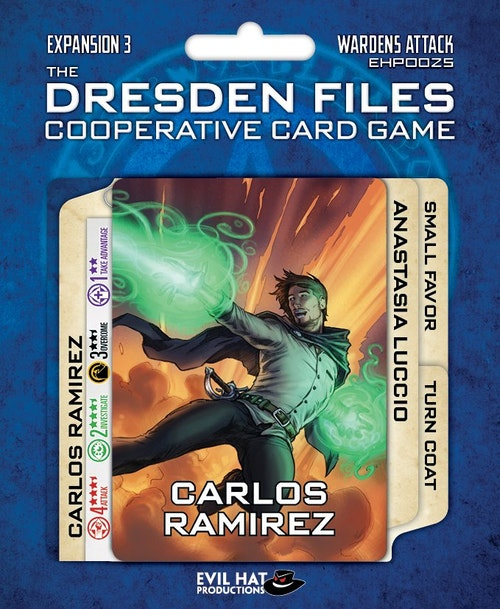 Dresden Files Cooperative Card Game: Wardens Attack (Expansion)
