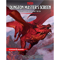 Dungeons & Dragons 5th Ed: DM's Screen Reincarnated