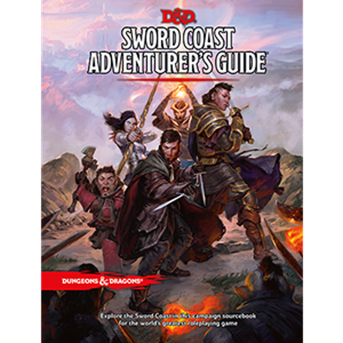 Dungeons & Dragons 5th Ed: Sword Coast Adventurer's Guide