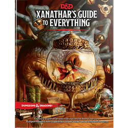 Dungeons & Dragons 5th Ed: Xanathar's Guide to Everything
