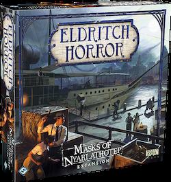 Eldritch Horror: Masks of Nyarlathotep (Expansion)