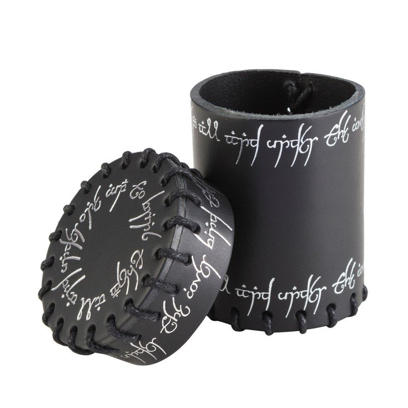 Elvish Dice Cup (Black Leather)