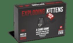 Exploding Kittens NSFW Edition (eng. regler)