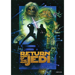 FFG Art Sleeves: Star Wars - Return of the Jedi (63,5 x 88 mm)