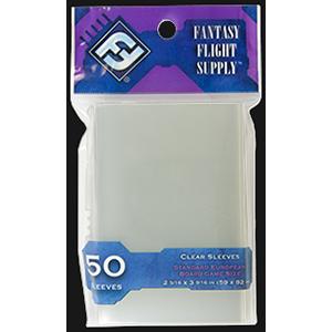 FFG Sleeves: Standard European Board Game Sleeves  (59x92 mm)