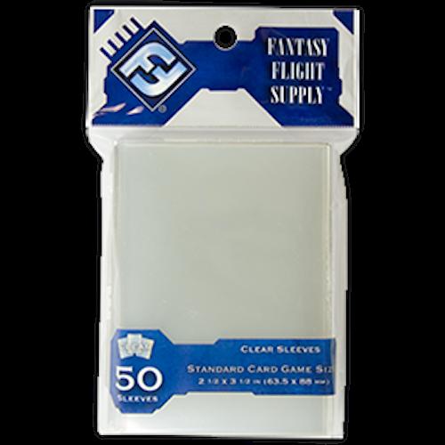 FFG Sleeves: Standard Card Game Clear (63.5 x 88 m