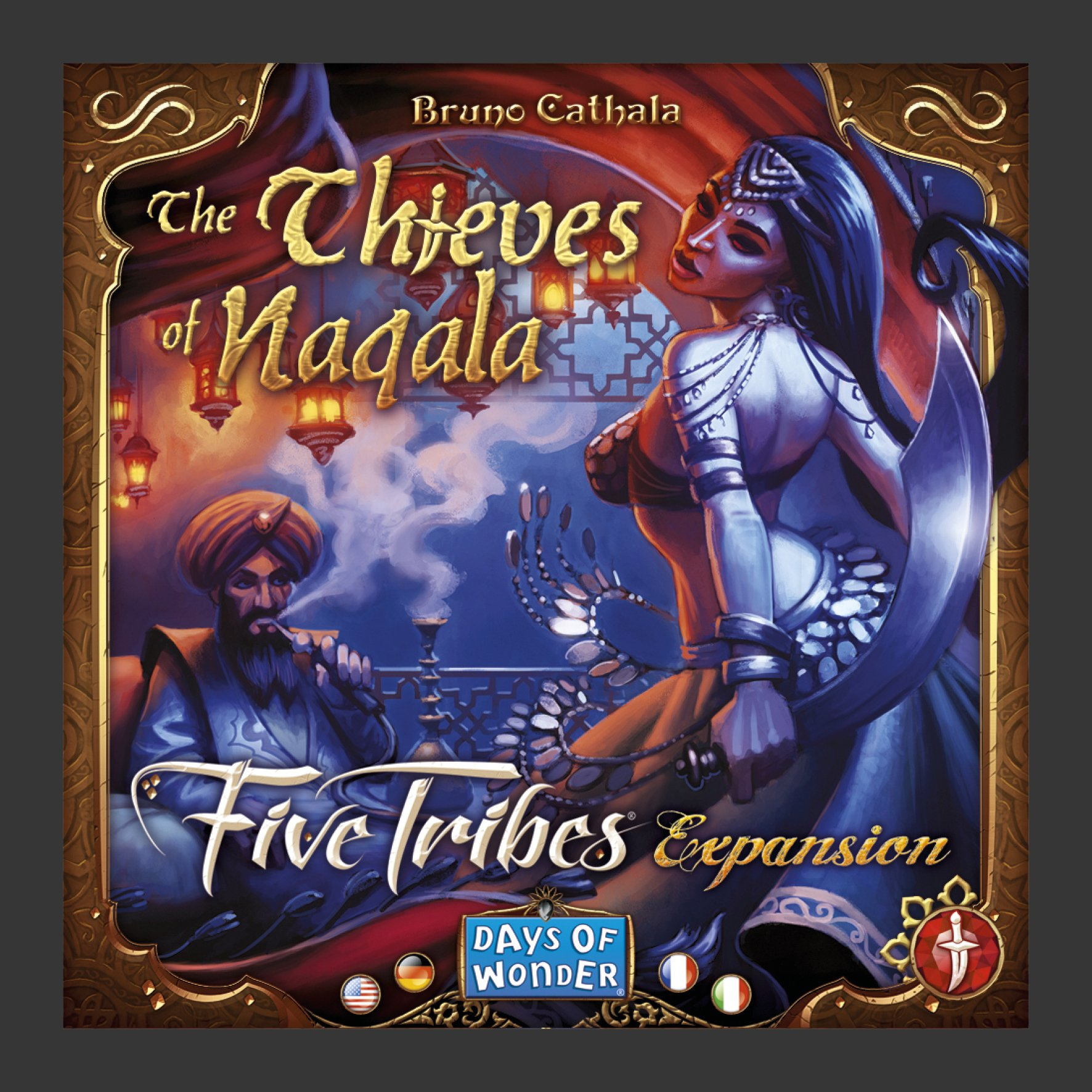 Five Tribes: The Thieves of Naqala (expansion)