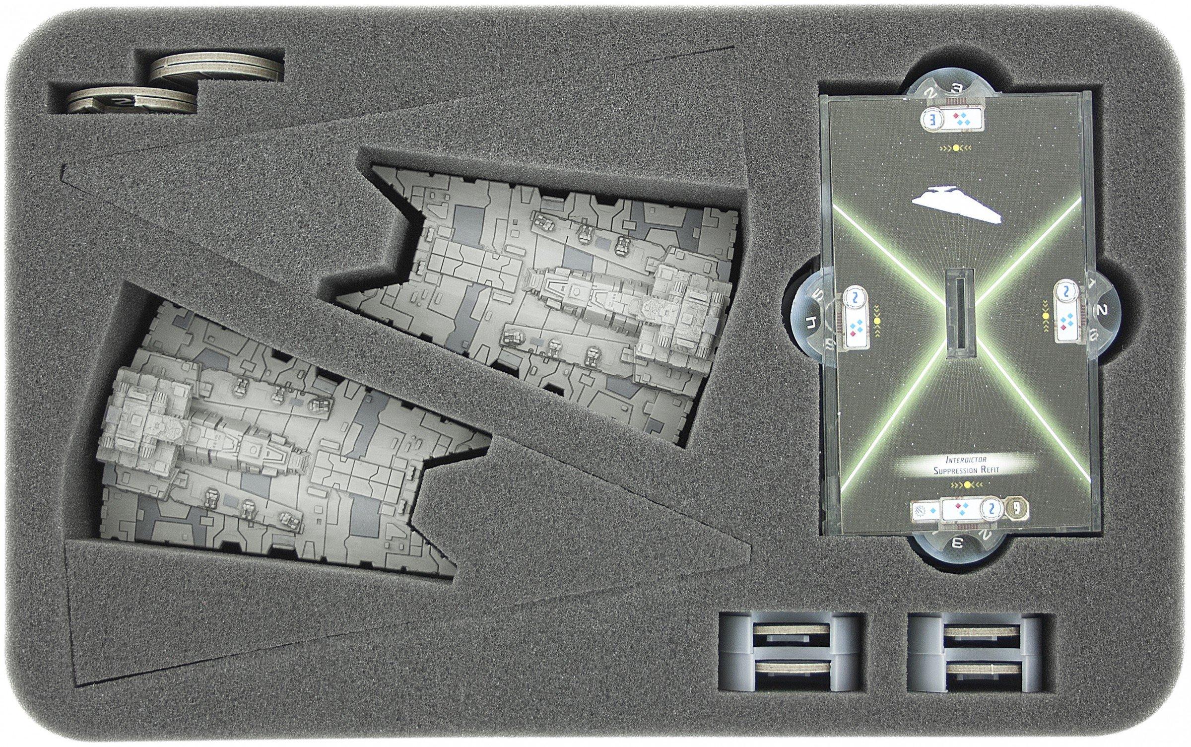 Foam Tray: ARMADA Interdictor/Gladiator + more