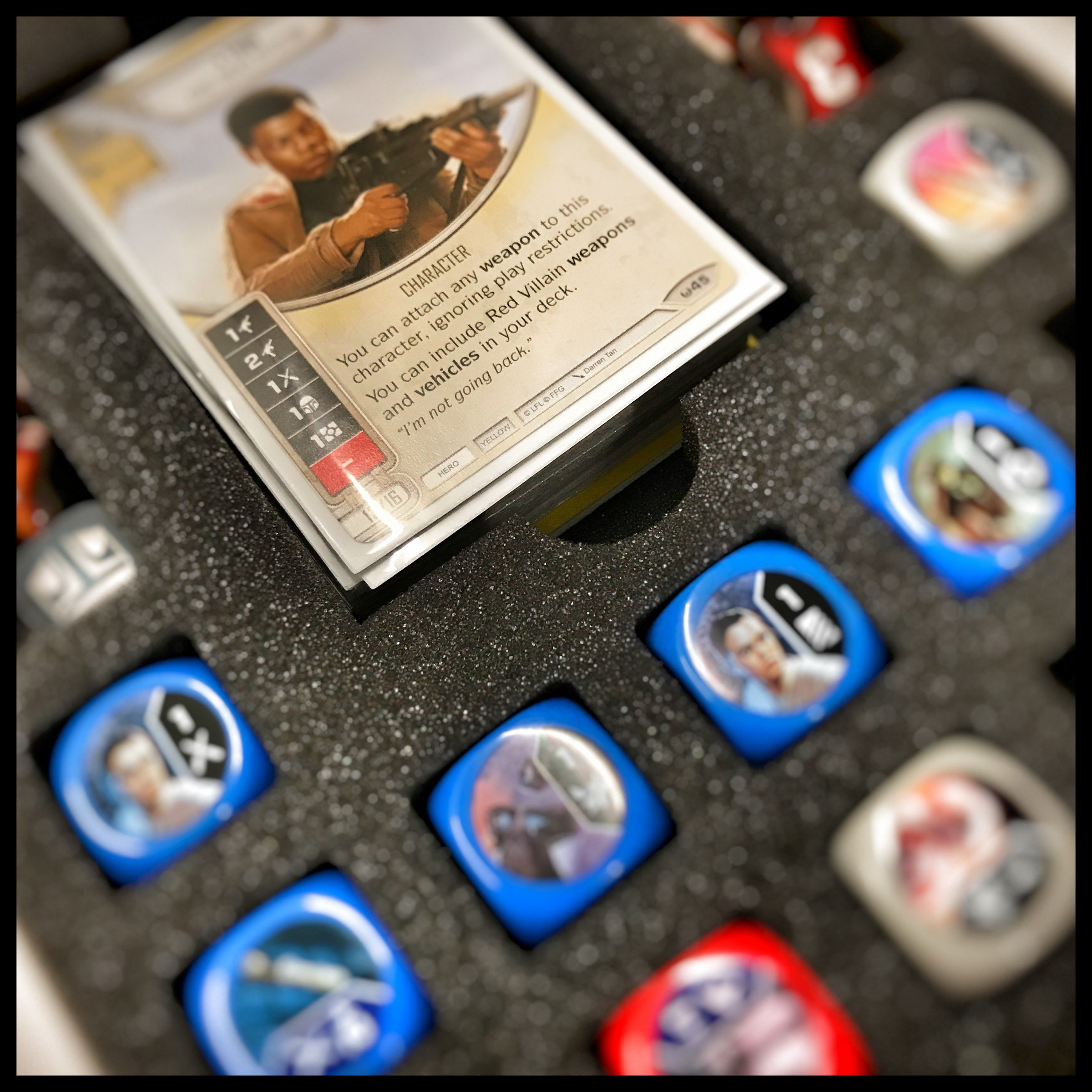 Foam tray: DESTINY  Cards+Dice+Tokens
