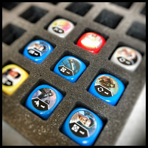 Foam Tray: DESTINY Dice