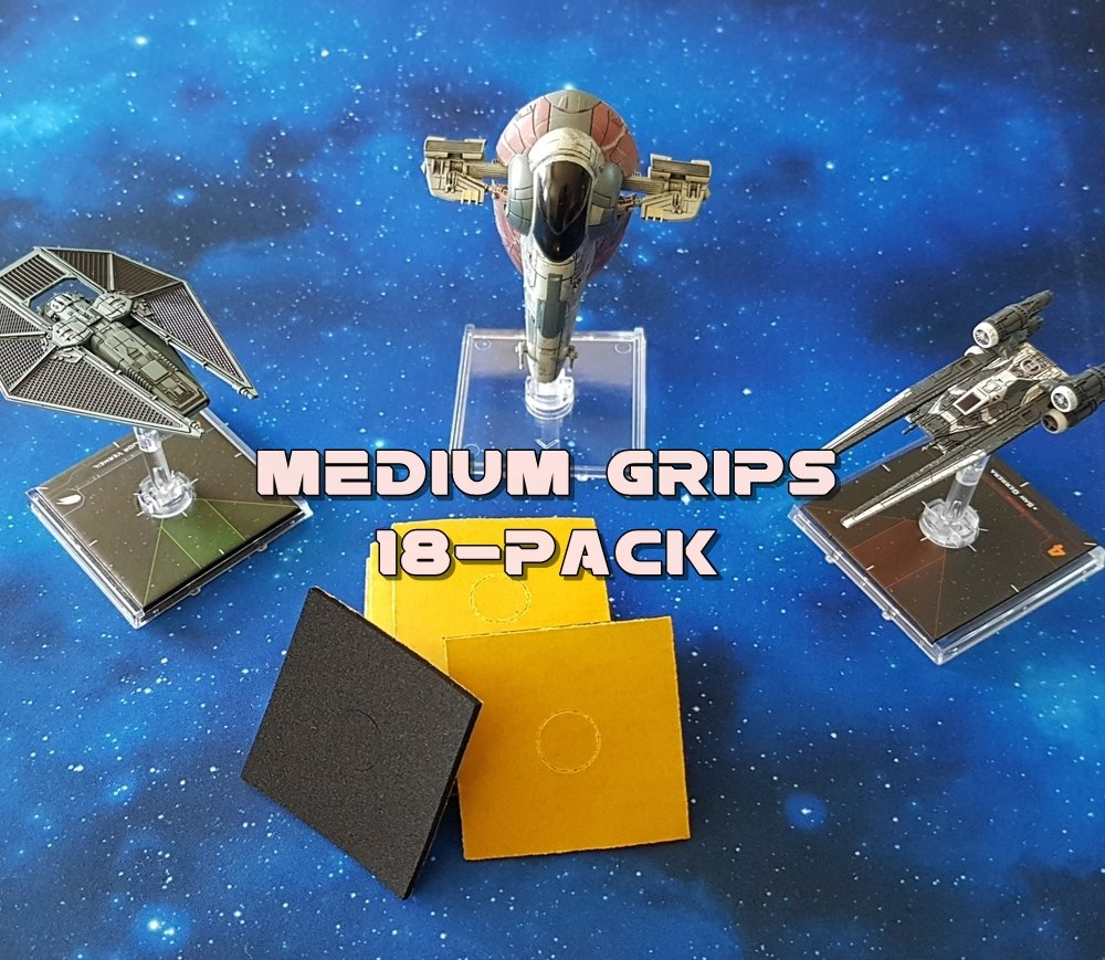 Grips MEDIUM X-Wing (18pcs)