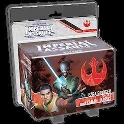 Imperial Assault: Ezra Bridger and Kanan Jarrus Ally Pack