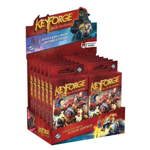 KeyForge: Call of the Archons DISPLAY (12 decks)