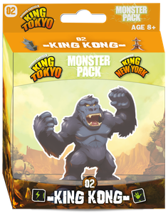King of Tokyo/New York: Monster Pack – King Kong (Expansion)