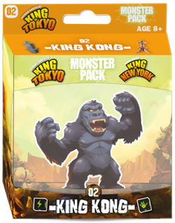King of Tokyo/New York: Monster Pack – King Kong (Expansion)