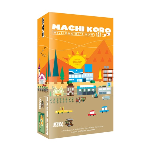 Machi Koro: Millionaires Row      (Expansion)
