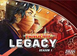 Pandemic Legacy: Season 1 (Red)