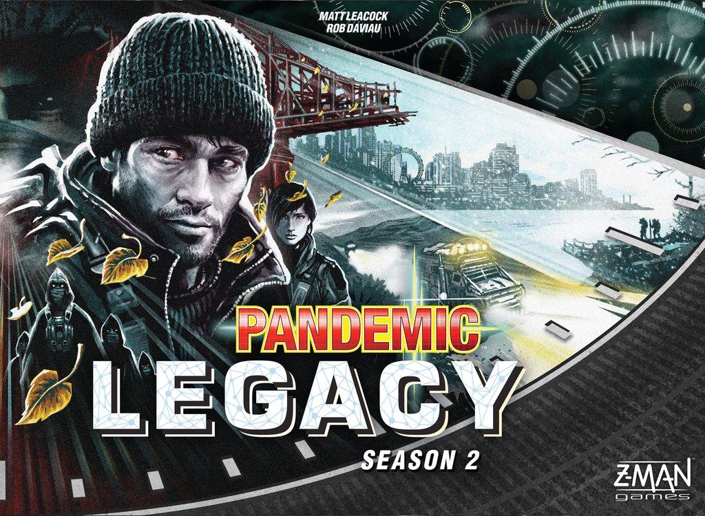 Pandemic Legacy: Season 2 (Black Ed.)
