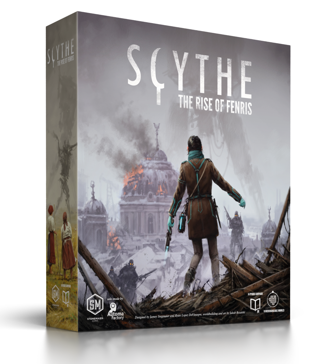 Scythe:  Rise of Fenris (Expansion)