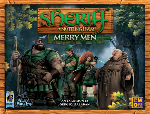Sheriff of Nottingham: Merry Men (expansion)