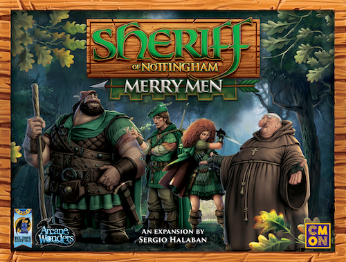 Sheriff of Nottingham: Merry Men (expansion)