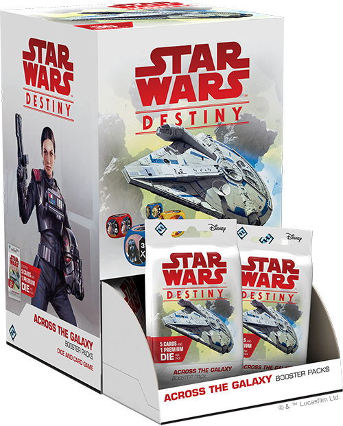 Star Wars Destiny: Across the Galaxy - Display Box